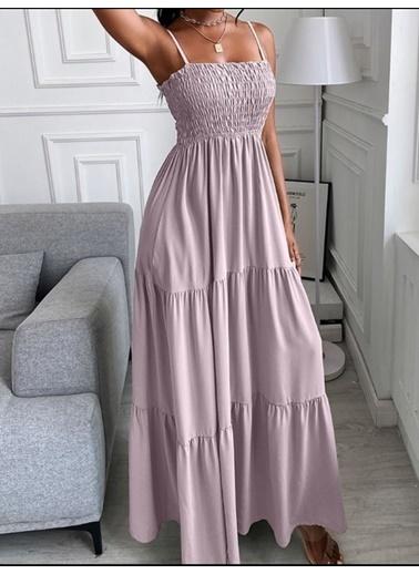BLACK&GRACE Elbise Lila